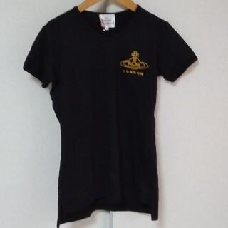 Vivienne Westwood - 90年代製‼️ヴィヴィアン·ウエストウッド スカル·オーブロゴTシャツ M