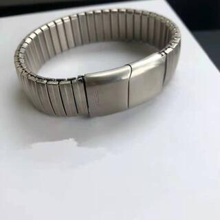 Peter do Brushed Silver Watch Bracelet