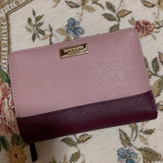 kate spade new york - ケイトスペード バイカラー二つ折り財布