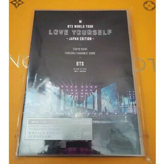 BTS WORLD TOUR 'LOVE YOURSELF' (通常盤)DVD