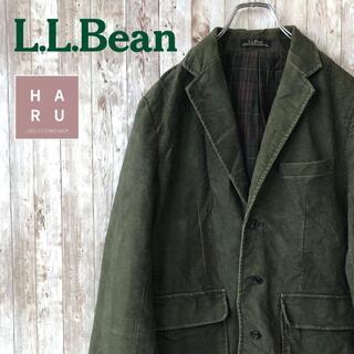 エルエルビーン(L.L.Bean)のレア☆エルエルビーン ジャケット モスグリーン 80's 90's(テーラードジャケット)
