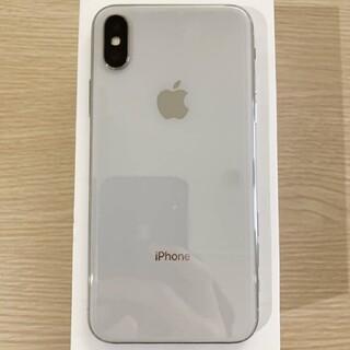 アイフォーン(iPhone)の iPhone X Silver 256 GB SIMフリー 超美品!(スマートフォン本体)