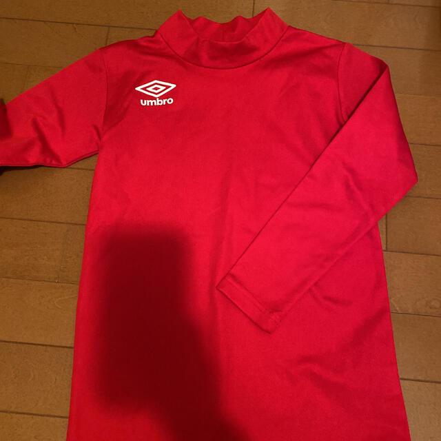 UMBRO(アンブロ)のアンブロ サッカー アンダーシャツ 150 スポーツ/アウトドアのサッカー/フットサル(ウェア)の商品写真