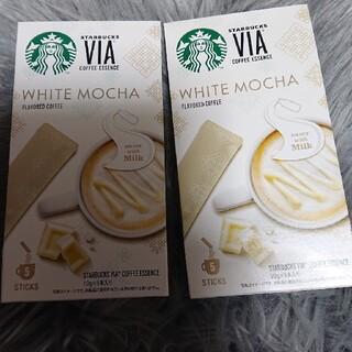 スターバックスコーヒー(Starbucks Coffee)のSTARBUCKS スタバ スターバックス ホワイトモカ VIA スティック(コーヒー)