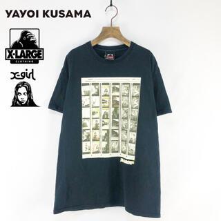 XLARGE - 【XLARGE】17ss 草間彌生コラボ フォトプリントTシャツ M