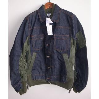 アーペーセー(A.P.C)のsacai APC eimi denim jacket デニムジャケット XS(Gジャン/デニムジャケット)