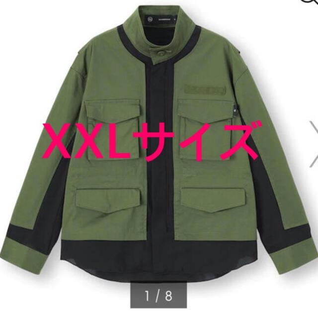 GU(ジーユー)のGU undercover ミリタリージャケット XXL レディースのジャケット/アウター(ミリタリージャケット)の商品写真