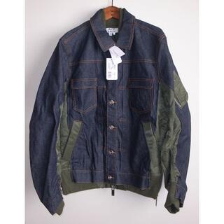 サカイ(sacai)のsacai × APC eimi denim jacket デニムジャケット S(Gジャン/デニムジャケット)