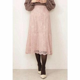 PROPORTION BODY DRESSING - 新品未使用⭐︎プロポーションボディドレッシング レースマーメイドスカート ピンク