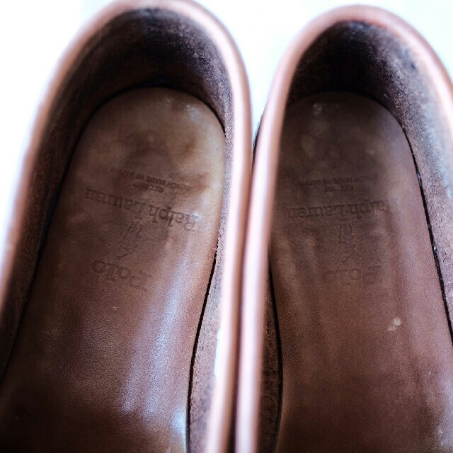 POLO RALPH LAUREN(ポロラルフローレン)のラルフローレン ローファー ブラウン 24.5cm レディースの靴/シューズ(ローファー/革靴)の商品写真