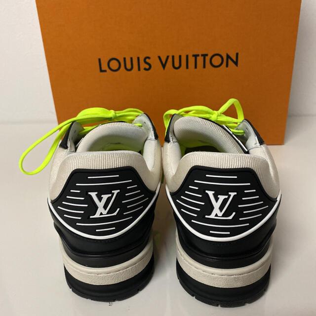 LOUIS VUITTON(ルイヴィトン)のヴィトン トレイナーラインスニーカー ヴァージル  メンズの靴/シューズ(スニーカー)の商品写真