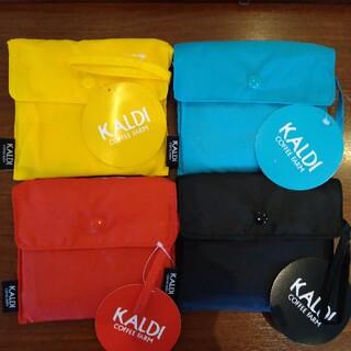 カルディ(KALDI)の[新品・未使用] KALDI エコバッグ (黒)(エコバッグ)