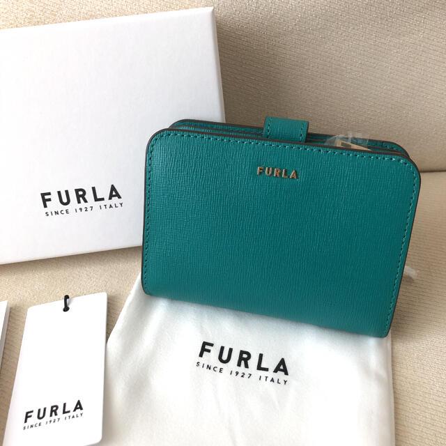 Furla(フルラ)の付属品全て有り★新品 FURLA 2020年秋冬 バビロン SMERALDO i レディースのファッション小物(財布)の商品写真