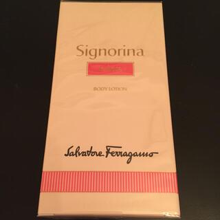 サルヴァトーレフェラガモ(Salvatore Ferragamo)のサルバトーレ フェラガモ 新品 シニョリーナ インフィオーレ ボディローション(ボディローション/ミルク)
