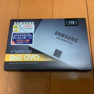 SAMSUNG - Samsung 860 QVO SSD /1TB 未使用品