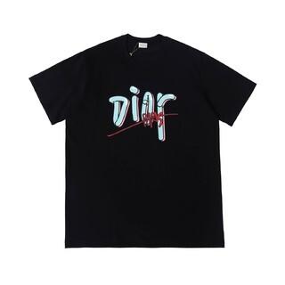 Dior - 【黑】2枚9800 DIORディオール 半袖Tシャツ#27