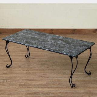 激安新品未使用!大理石風テーブル(ローテーブル)