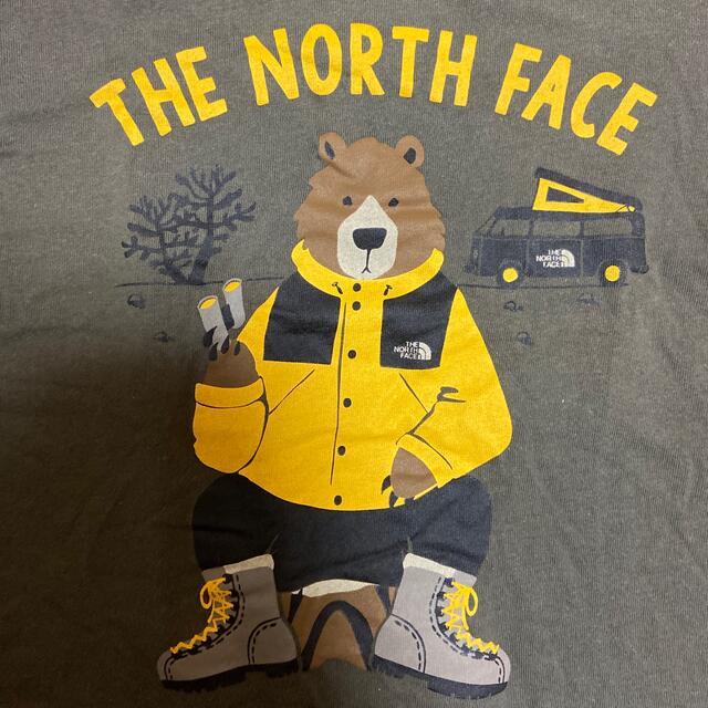 THE NORTH FACE(ザノースフェイス)の週末価格 ノースフェイス Tシャツ 130 キッズ/ベビー/マタニティのキッズ服男の子用(90cm~)(Tシャツ/カットソー)の商品写真