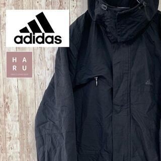 アディダス(adidas)のアディダス adidas マウンテンジャンパー ハイネック ビック ブラック(マウンテンパーカー)