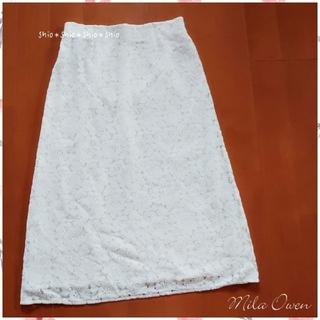 Mila Owen - 《Mila Owen》フラワーレース スカート 1