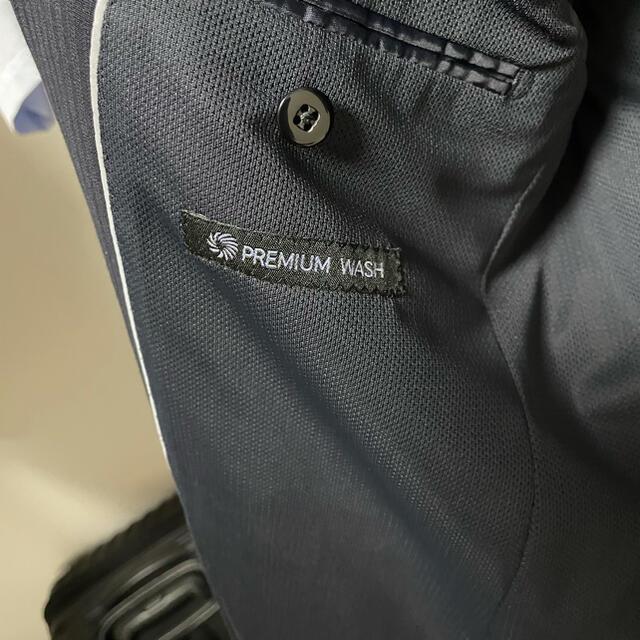 AOKI(アオキ)のAOKI スーツ セットアップ 上下 ネイビー 洗濯可  メンズのスーツ(セットアップ)の商品写真