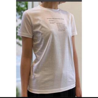 エンフォルド(ENFOLD)の新品タグ付き ENFOLD tシャツ ワンサイズ(Tシャツ(半袖/袖なし))