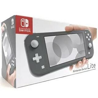 新品 任天堂 スイッチ ライト Nintendo Switch Liteグレー (家庭用ゲーム機本体)