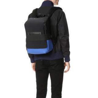 Y-3 - Y-3 Qasa Back Pack (リュック) 黒x青