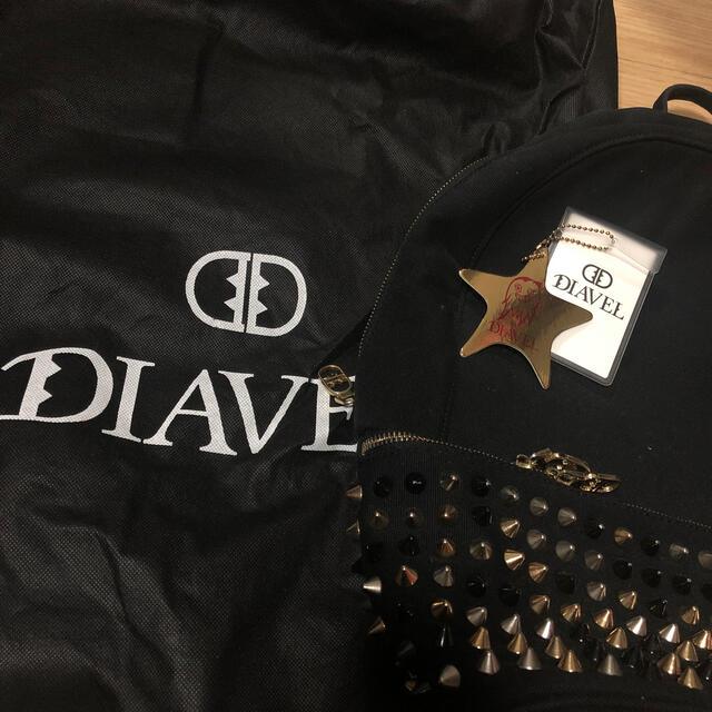 Christian Louboutin(クリスチャンルブタン)のディアベル DIAVEL スタッズ リュック美品 レディースのバッグ(リュック/バックパック)の商品写真