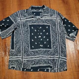 UNUSED - unused 20ss バンダナシャツ