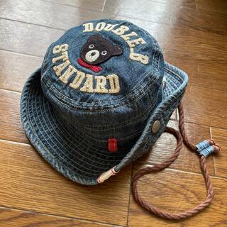 DOUBLE.B - ダブルビー デニム 2WAY ハット 帽子 48㌢