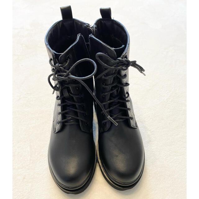 GRL(グレイル)の【GRL】【新品未使用】レースアップショートブーツ 23.5㎝ レディースの靴/シューズ(ブーツ)の商品写真