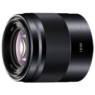 SONY - ソニー 単焦点レンズ E 50mm F1.8 OSS APS-C