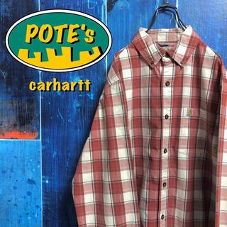 carhartt - 【カーハート】ポケットロゴタグチェックシャツ