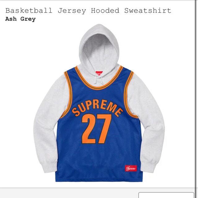 Supreme(シュプリーム)のsupreme basketball hooded フーディー パーカー メンズのトップス(パーカー)の商品写真