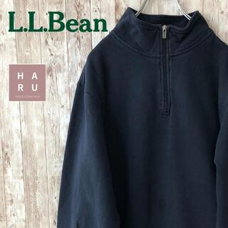 エルエルビーン(L.L.Bean)のエルエルビーン ハーフジップトレーナー ポケット(スウェット)