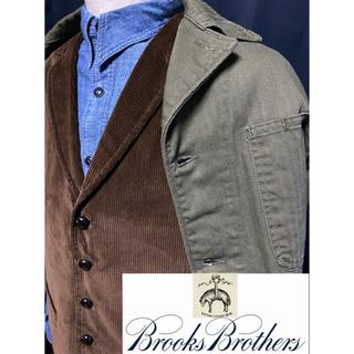 ブルックスブラザース(Brooks Brothers)の新品未使用 1818高級ライン Brooks Brothers corduroy(ベスト)