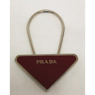 PRADA - PRADA プラダ キーホルダー チャーム ストラップ プレート