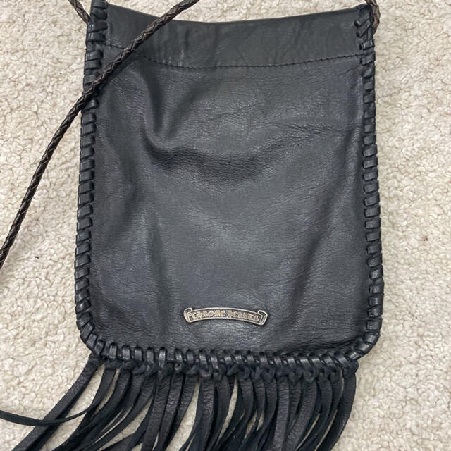 Chrome Hearts(クロムハーツ)のクロムハーツ フリンジ ショルダーバッグ 美品 メンズのバッグ(ショルダーバッグ)の商品写真