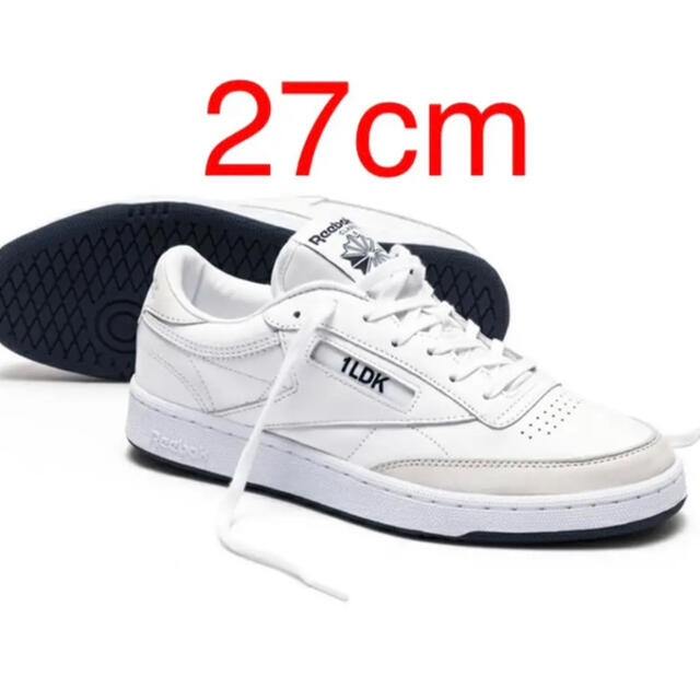 1LDK SELECT(ワンエルディーケーセレクト)のReebok 1LDK Club C 85 27cm メンズの靴/シューズ(スニーカー)の商品写真