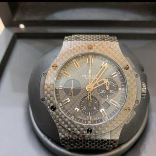 ウブロ(HUBLOT)のHUBLOT ビッグバンオールブラックカーボン 301.QX.1740.GR (腕時計(アナログ))