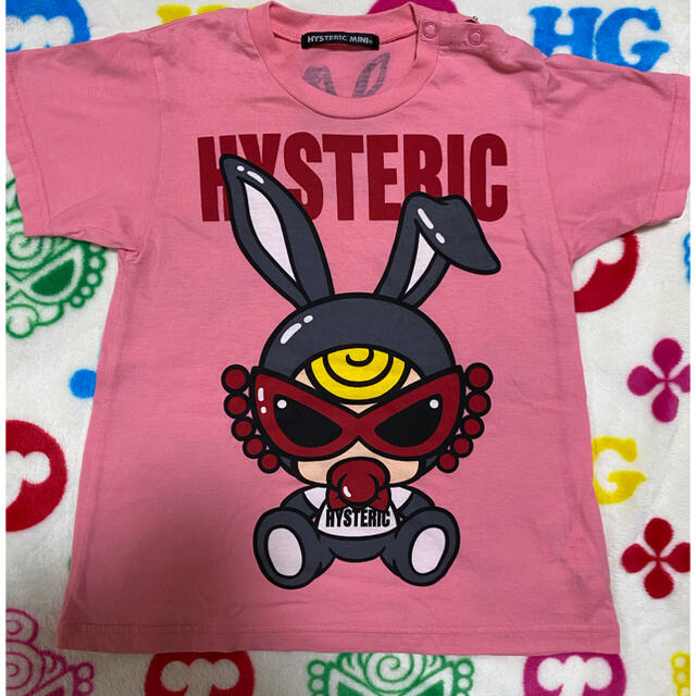 HYSTERIC MINI(ヒステリックミニ)のバニーベビー❣️最終お値下げ😍 キッズ/ベビー/マタニティのキッズ服女の子用(90cm~)(Tシャツ/カットソー)の商品写真