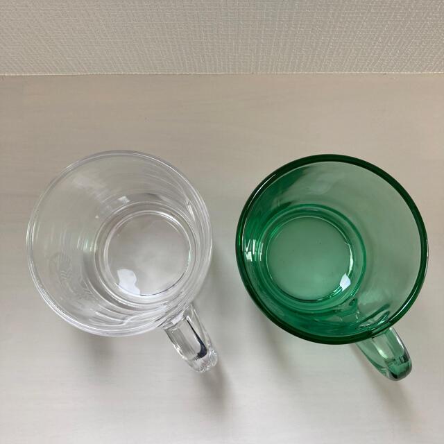 Starbucks Coffee(スターバックスコーヒー)の【ま様専用】スタバ ガラスマグ 2個セット 350ml インテリア/住まい/日用品のキッチン/食器(グラス/カップ)の商品写真