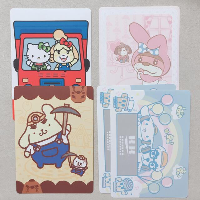 任天堂(ニンテンドウ)のあつ森 サンリオ シール エンタメ/ホビーのアニメグッズ(カード)の商品写真