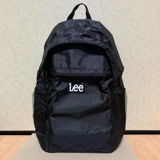 リー(Lee)の【新品】LEE  BLACKロゴ 男女兼用 リュック バッグパック(バッグパック/リュック)