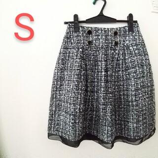 シマムラ(しまむら)の膝上スカート S(ミニスカート)