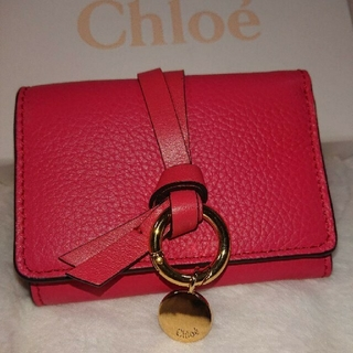 Chloe - Chloe aby クロエ スモールトリフォールド 3つ折り財布 コンパクト 新