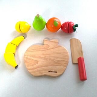 ファミリア(familiar)のファミリア おままごとセット 木のおもちゃ(知育玩具)