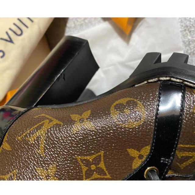 LOUIS VUITTON(ルイヴィトン)のモノグラム スタートレイル アンクルブーツ 本物 ルイヴィトン 正規品 ブーツ レディースの靴/シューズ(ブーツ)の商品写真