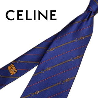 celine - 【超美品✨】セリーヌ おしゃれ ネクタイ【送料無料・即日発送】